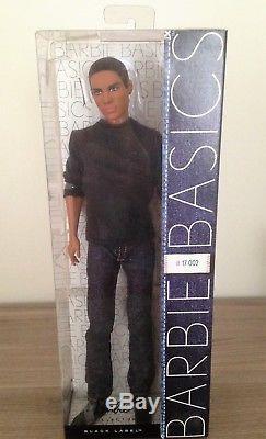 Barbie Basics Denim Jeans African American Ken Model 17 Collection 002 NRFB