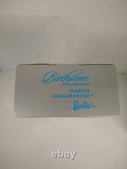 Barbie Birthstone Collection March/Aquamarine African American/Black 2002 NRFB