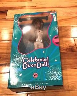 Barbie Celebrate Disco Doll African American Pink Label 2008 N2442 NRFB