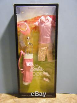 Barbie City Shopper African American Doll & Pink On The Green Fashion New