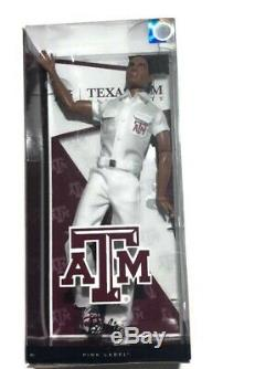 Barbie Collector Texas A&M University African American Ken Doll Cheerleader
