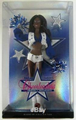 Barbie Dallas Cowboys Cheerleader African American Doll Pop Culture Dolls Col