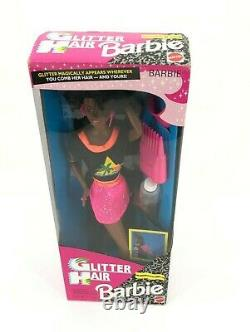 Barbie Doll 11332 Glitter Hair African American 1993