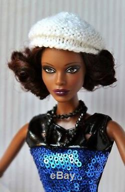 Barbie Doll African American Claudette Gordon Fully Articulated Redressed Rare