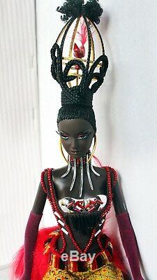 Barbie Doll African American Treasures of Africa Tano Stunning Rare