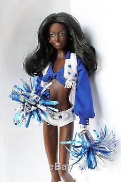 Barbie Doll Dallas Cowboys Cheerleader African American Rare