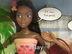 Barbie Doll My Scene Jammin' In Jamaica Jai & Sutton Tandem Bike Playset Rare