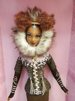 Barbie Doll TREASURES OF AFRICA NNE BYRON LARS Limited Edition 2005