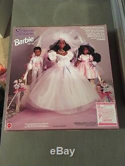 Barbie Dream Wedding African American Doll Limited Edition Gift Set Stacie Todd