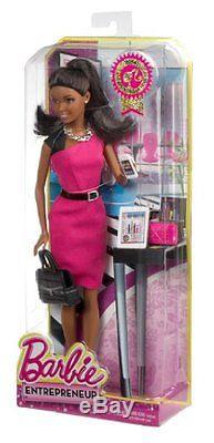 Barbie Entrepreneur African-American Doll