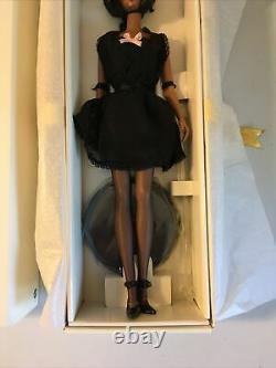 Barbie Fashion Model Collection Lingerie Doll Silkstone Body #56120 Black