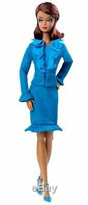 Barbie Fashion Model Collection Suit Doll, PLAY DOLL For Kids, Barbie Doll, Blue