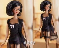 Barbie Fashion Model Silkstone Doll 2002 African American Black Lingerie #56120