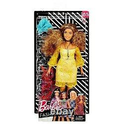 Barbie Fashionistas 85 Curvy Doll Glam Boho Style, FJF70