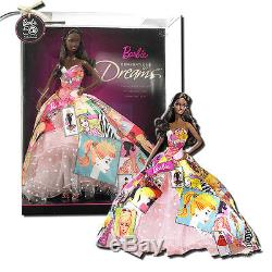 Barbie Generations of Dreams African American 11-Inch Barbie Doll P7940