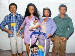 Barbie Happy Family Neighborhood Grandma Doll Baby (African American)