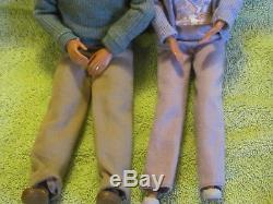 Barbie Happy Family Neighborhood Grandpa & Grandma African American AA RARE