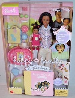 Barbie Happy Family Neighborhood Midge & Nikki 1st Birthday African American