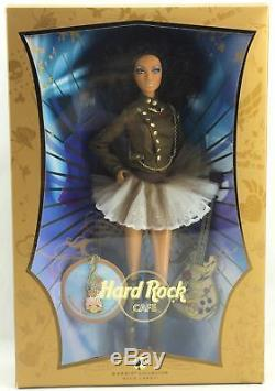 Barbie Hard Rock Cafe African American Black Doll Gold Label Collector 2007