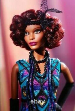 Barbie Harlem Theater Series Claudette Gordon Gold Label New In Shipper Box