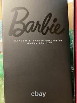 Barbie Harlem Theatre Collection Madam Lavinia 2016 Doll Gold Label NRFB