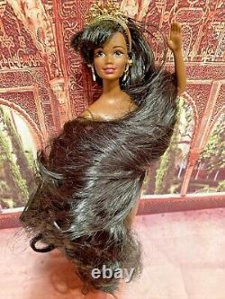 Barbie Jewel Hair Mermaid African American Doll Mattel#14587 Longest Hair Ever