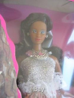 Barbie Jewel Secrets 1986 & Costume Ball 1990 African American Dolls Lot of 2