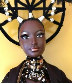 Barbie MOJA Treasures of Africa Designed By Byron Lars 2001 50826 NRFB