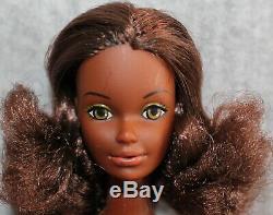 Barbie Mattel Vintage Doll 1970's Rare Cara African American Black Afro Hair