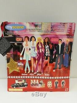 Barbie My Scene'Goes Hollywood' WESTLEY Doll Rooted Eyelashes 2005 HTF
