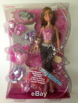 Barbie My Scene Totally Charmed Westley Madison Doll African American 2006 HTF