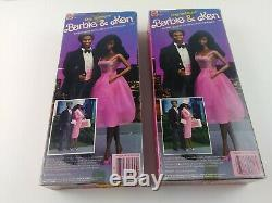 Barbie and Ken African American NRFB Day to Night Dolls 1984