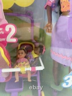Barbie stroll n play 3 In 1 Fun Aa And 2 Baby Krissy Stroller