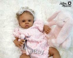 Beautiful African American Biracial Baby Girl by LMRN