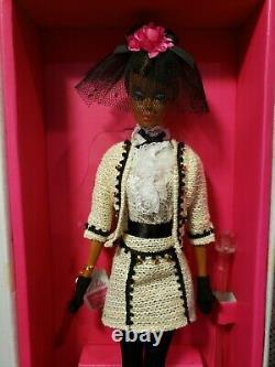 Best To A Tea Silkstone Barbie Doll 2019 Gold Label Mattel Ght45 Nrfb