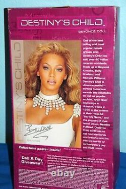 Beyonce Destiny's child 2005 Barbie Doll + Poster Mattel New In Box $165. F/SH