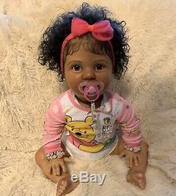 Bi racial Ethnic AA Reborn Amelia