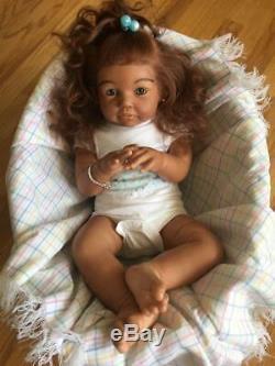 Biracial Ethnic AA African American BIG Reborn Toddler Baby Boy/Girl Chanelle
