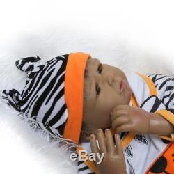 Biracial Reborn Baby Doll Look Real African American Newborn 22 Black Dolls