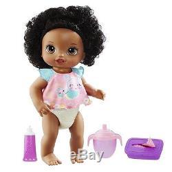 Black African American Talking Doll Baby Alive Twinkles n' Tinkles Hasbro Xmas