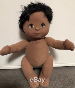 Black Haired, Brown Eyed African American/ AA Boy My Child Doll