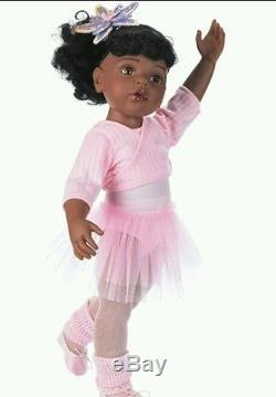 Black african american doll