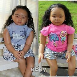 Blasian Toddler Reborn Amaya kit by Connie Burke