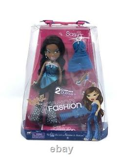 Bratz Passion 4 Fashion Sasha HARD TO Find NEW IN BOX Toy MGA Rare