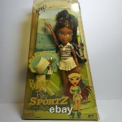 Bratz Play Sportz SASHA Doll TENNIS Super Rare HTF MGA NRFB New Box is Damaged