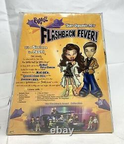 Bratz SASHA FLASHBACK FEVER Disco Dynamite 70's NRFB HTF Disco Ball New RARE