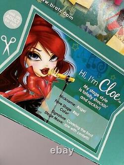 Bratz Style Starz Cloe Doll Sings 2 Wigs New In Box