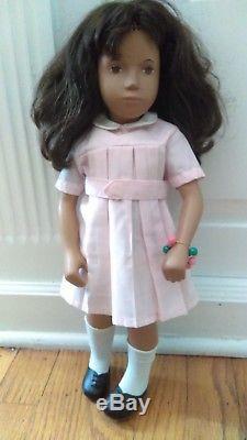 Brunette African American Sasha Doll Original Pink Dress Shoes Brown Eyes Lovely