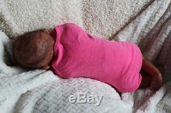 Bundles of Joy Reborn Infant Girl Ethnic African American Doll