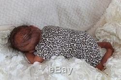 Bundles of Joy Reborns African American, Biracial Girl Newborn Christmas Doll